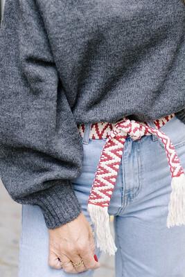 Belt Marie Red