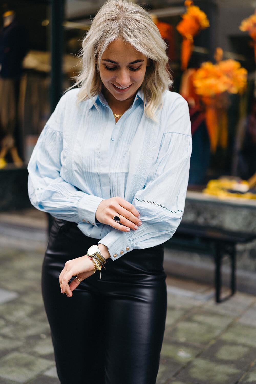 blouse Cham blue