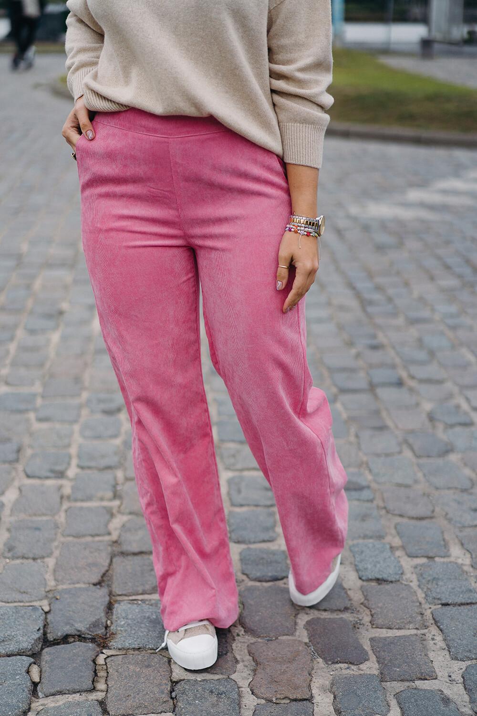 Charro pants hot pink