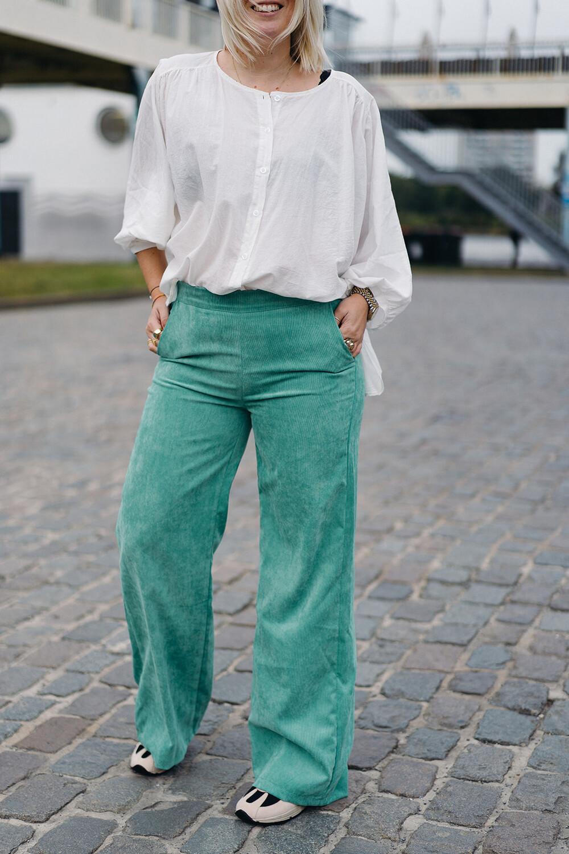 Charro pants Toxic green