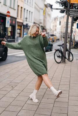 dress Fosha green