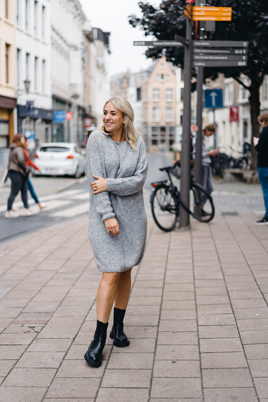 dress Fosha grey