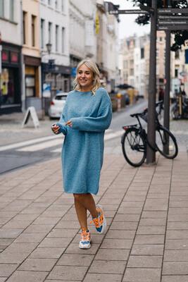 dress Fosha blue