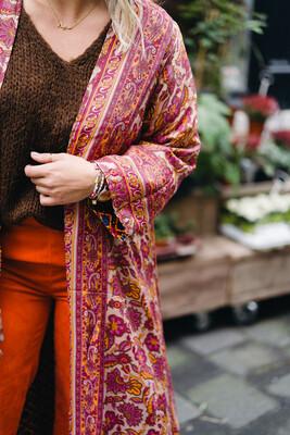 Kimono reversible pink