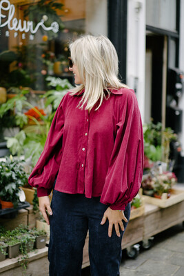 blouse Emma framboos