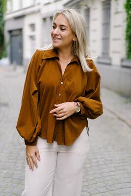blouse Emma camel