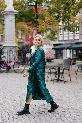dress Etare green
