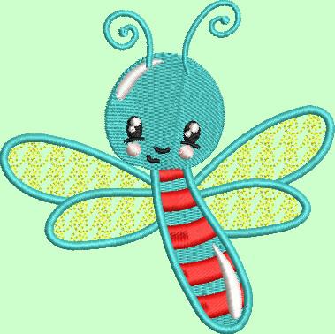 Libelle (kan gecombineerd worden met Mylar)