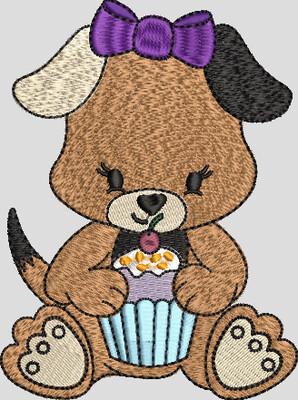 hondje cupcake