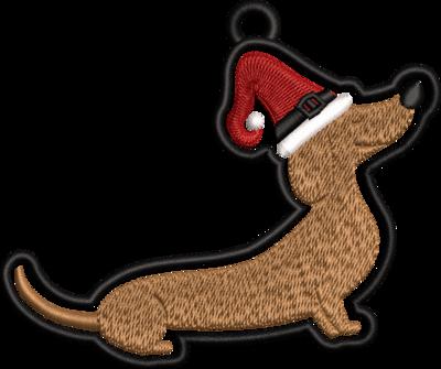 Kerst tekkel hanger