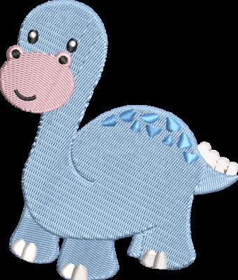 Dino blauw