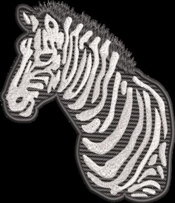 Zebra (evt. met mylar)