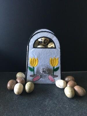 vouwtasje met konijntje