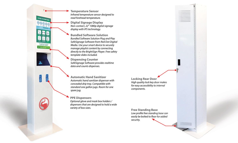 Safezone Wellness Station: Temperature Sensor