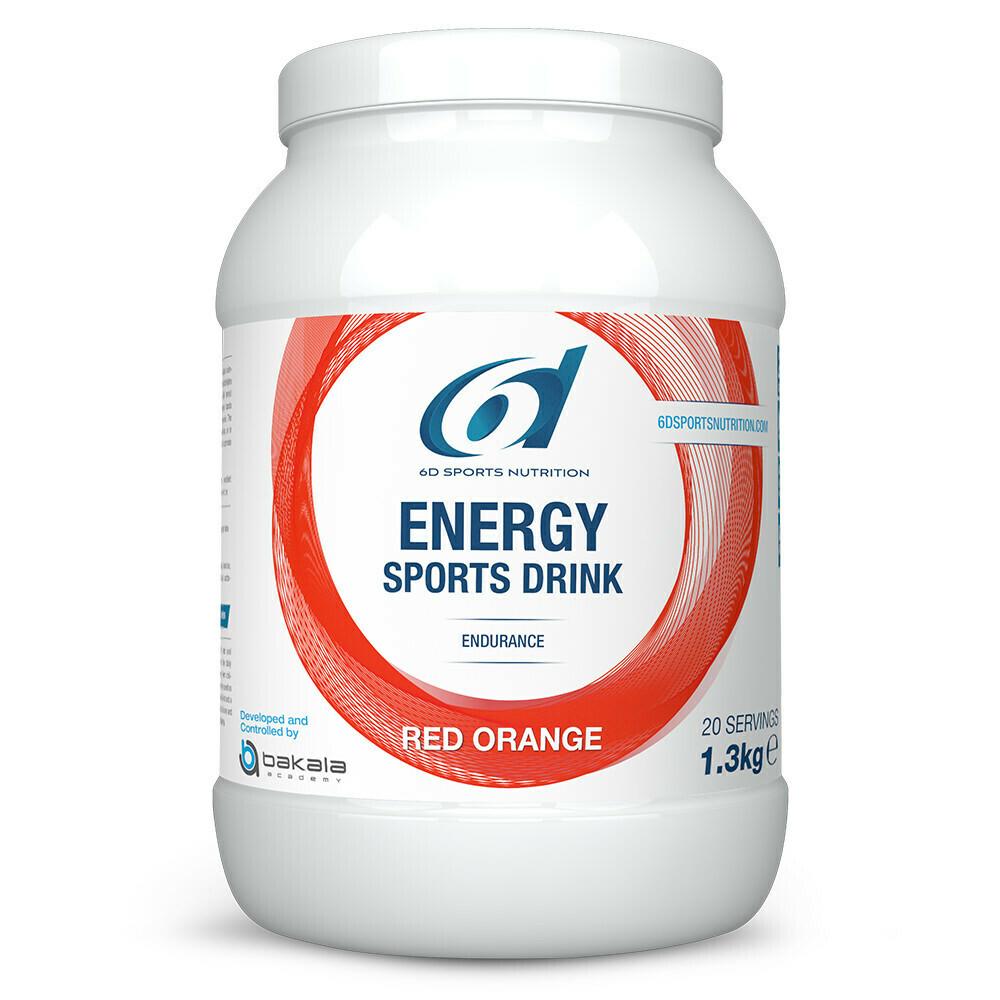 ENERGY SPORTS DRINK RED ORANGE