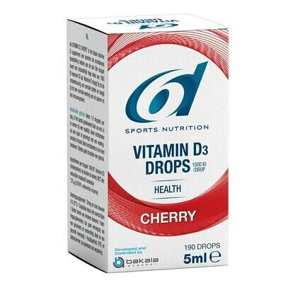 VITAMINE D DROPS CHERRY