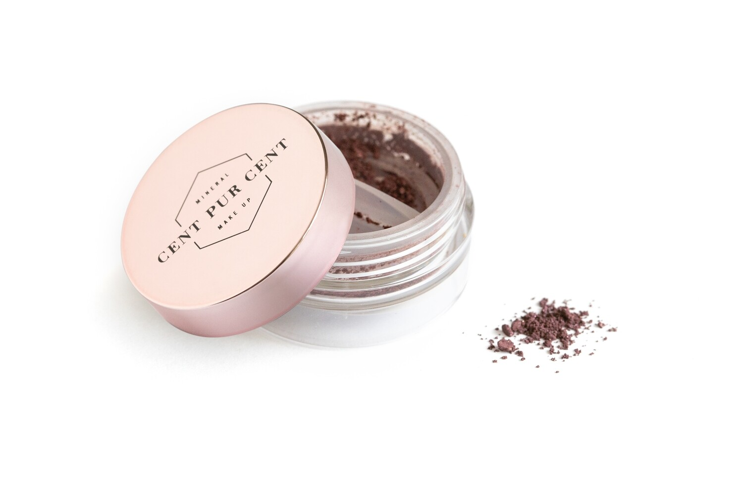 Loose mineral shadow color Chocolate