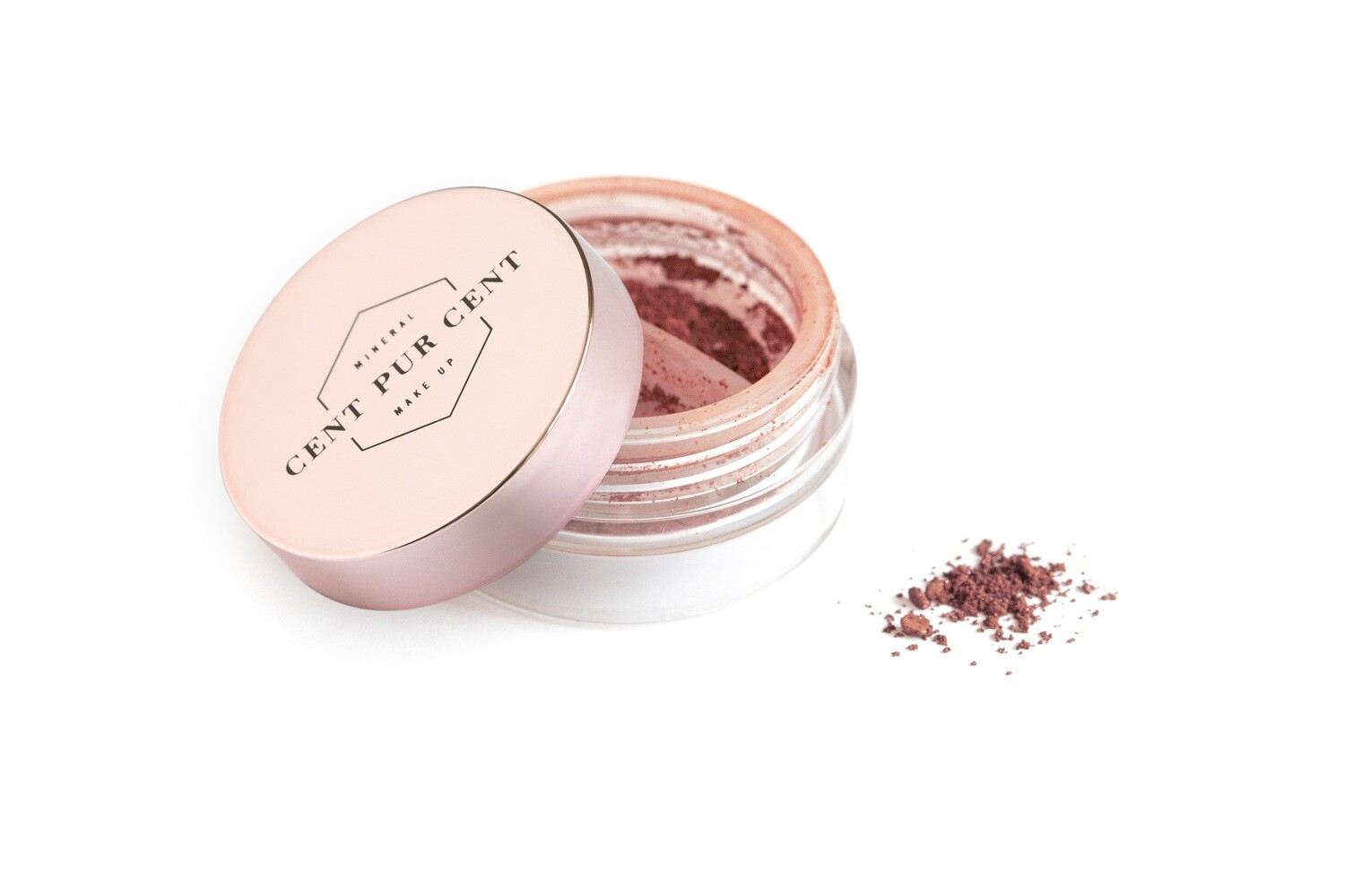 Loose mineral shadow color Framboise