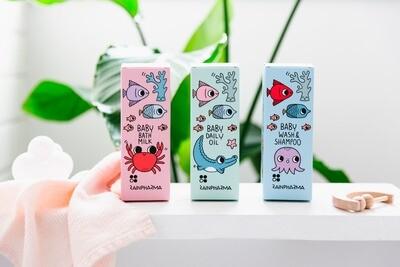 Baby Wash &  Shampoo 200ml