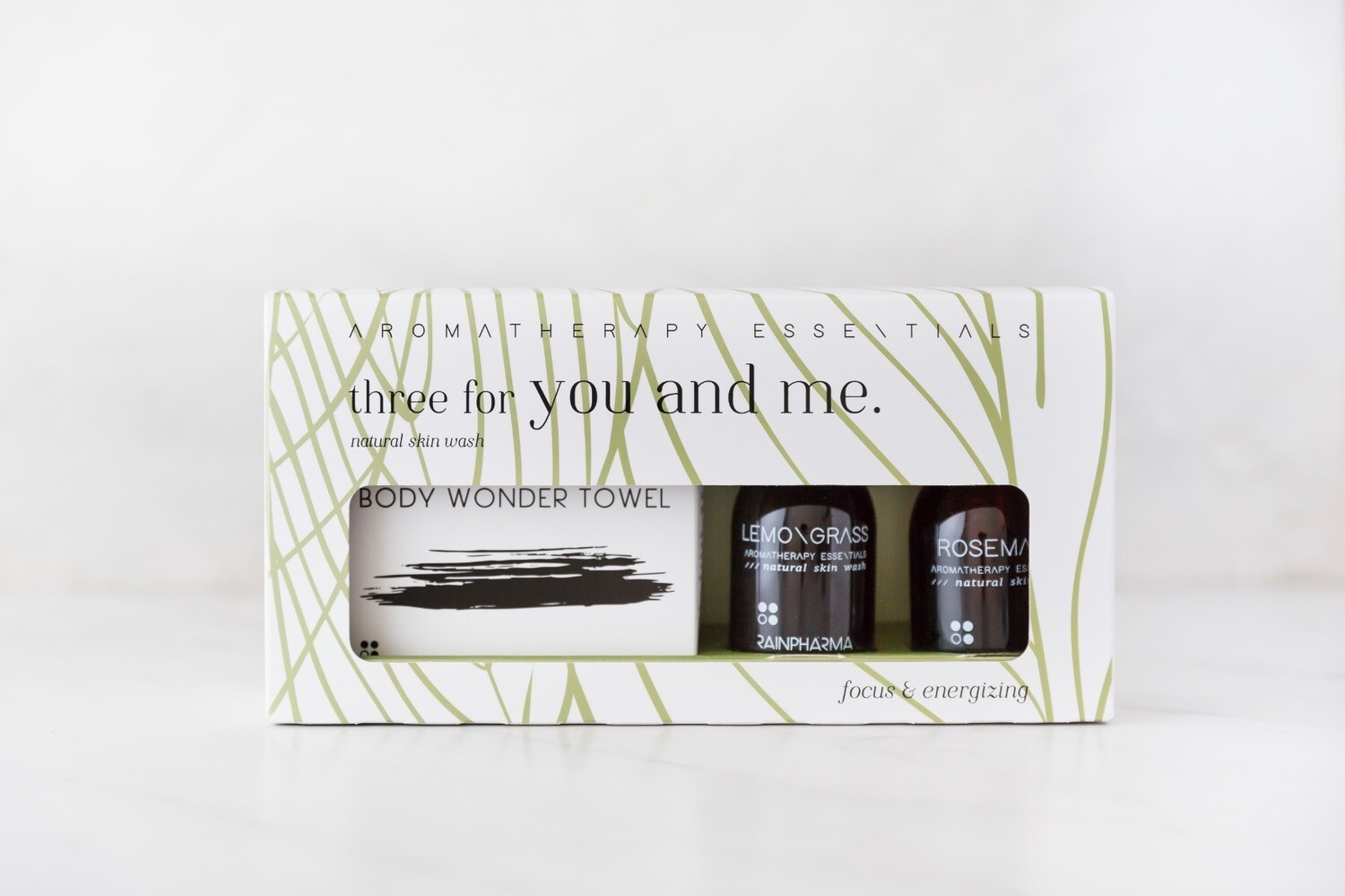 Three for you and me - Focus & Energizing - Rosemary/Lemongrass