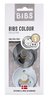 BIBS 1 duo iron - baby blue