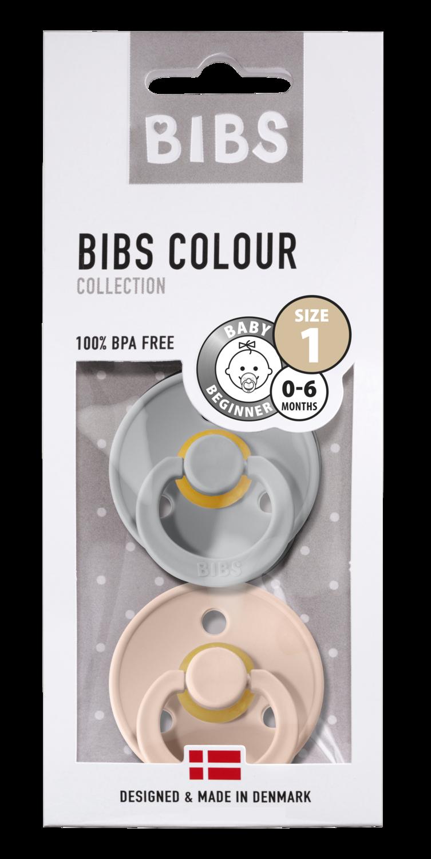 BIBS 1 duo cloud -blush