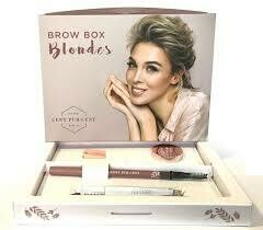 brow box blondes