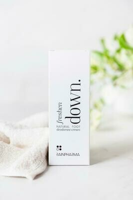Freshen Down natural foot Deodorant