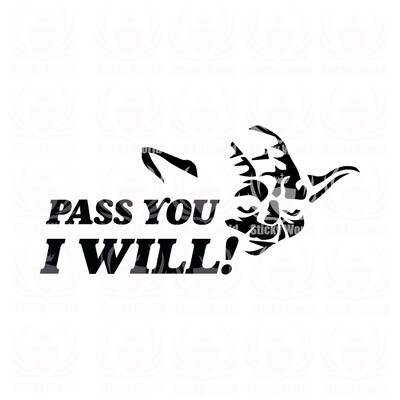 Pass You I Will