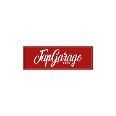 JAPGARAGE RED 21x7CM