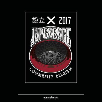 JAPGARAGE COMMUNITY BELGIUM WHEEL 8CM