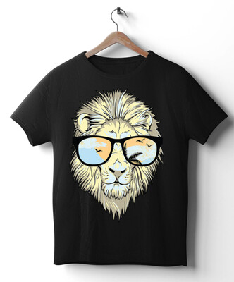 Lion With Glasses