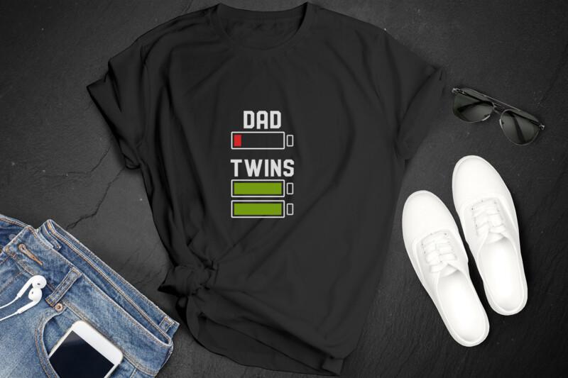 Dad VS Twins