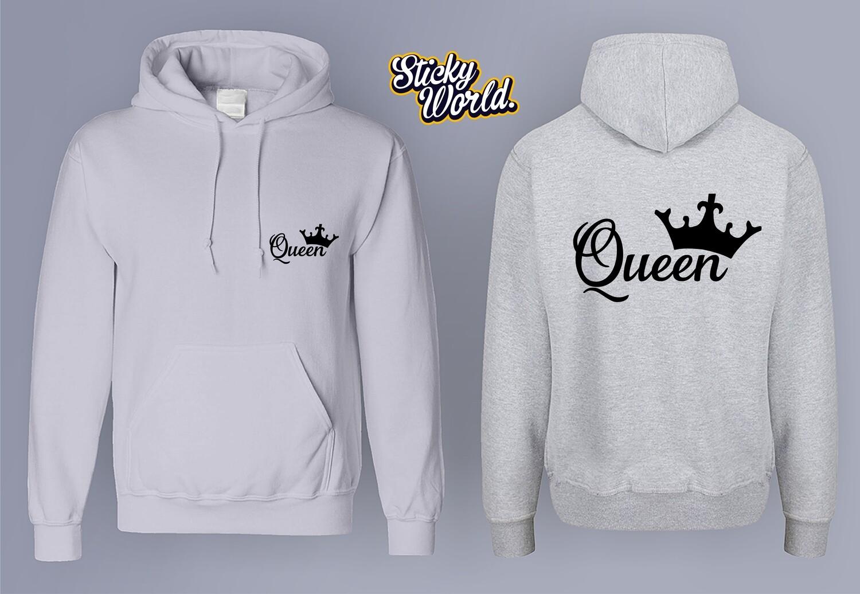 King & Queen Hoodie Set