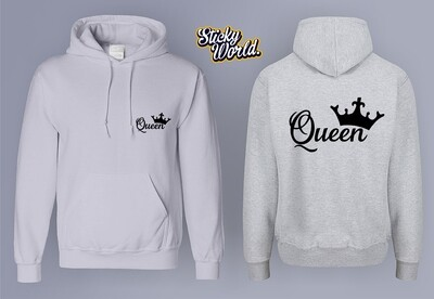King & Queen Hoodie Set