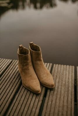 NEW BEIGE boots PRE ORDER