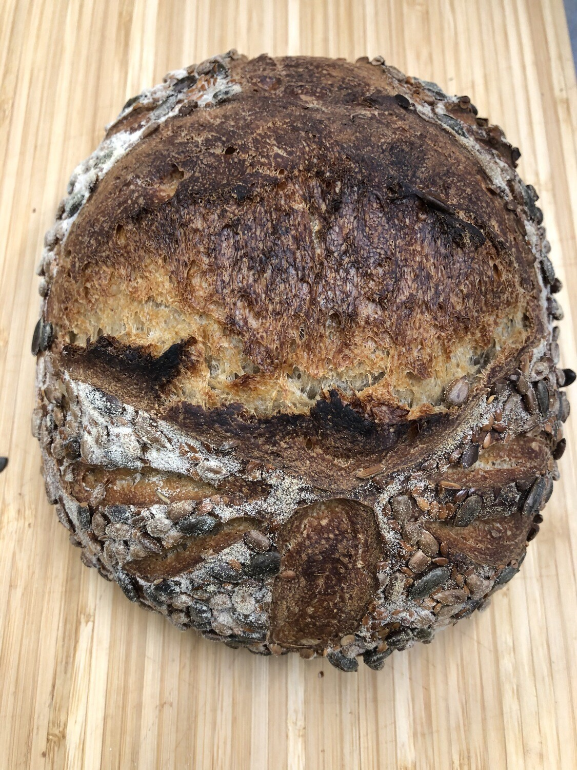 Seeded Country White - 600g