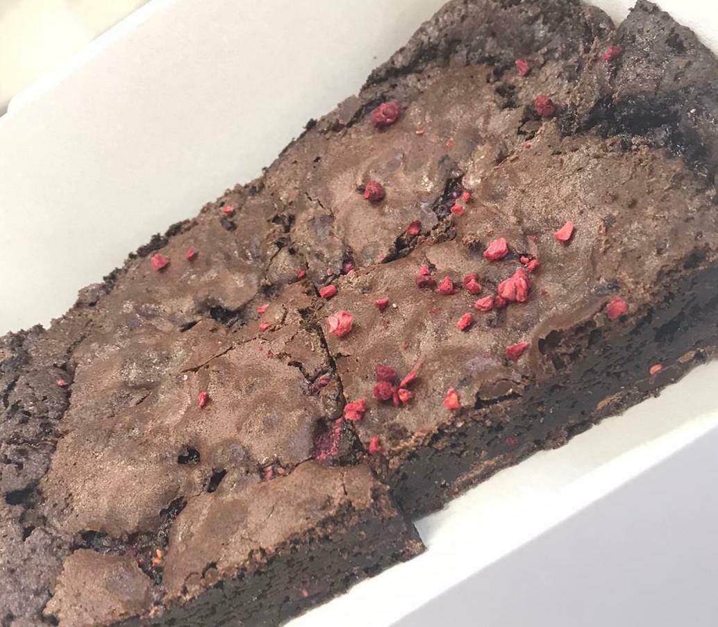 Chocolate Raspberry Brownies (pack of 4)