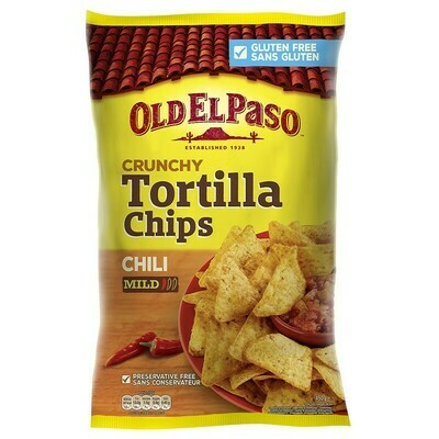 Old El Paso Tortilla Chips Chili