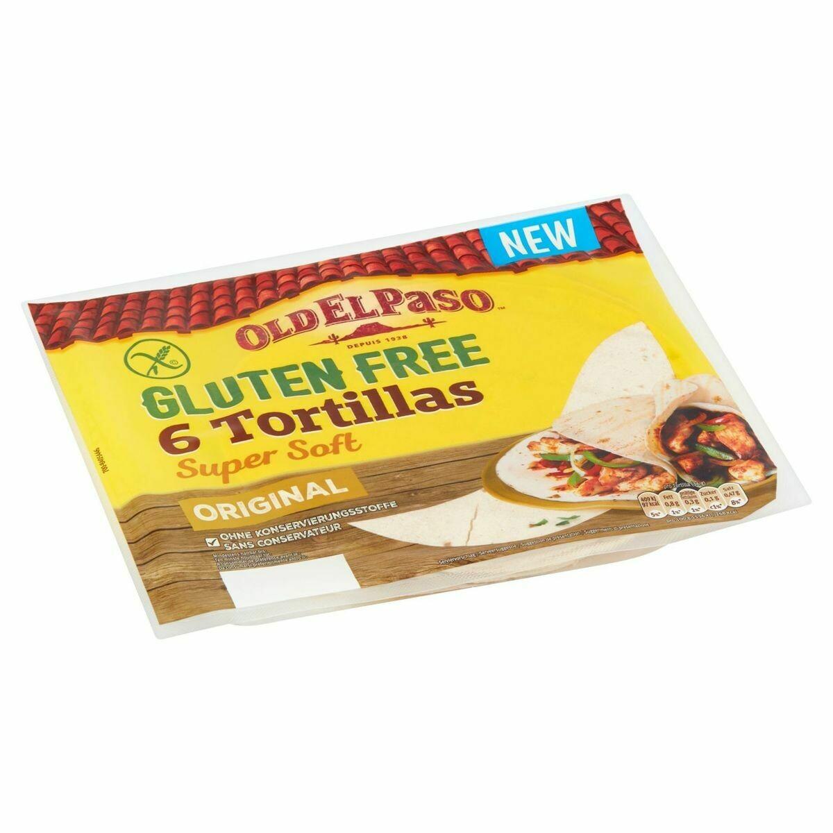 Old El Paso Tortillas 6 stuks