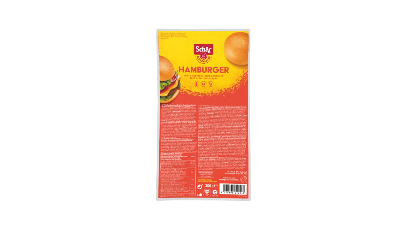 Schar Hamburgerbroodjes 4 stuks