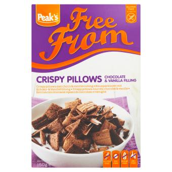 Peak's Crispy Pillows met chocolade en vanillevulling
