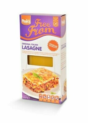 Peak's Free From Lasagnebladen