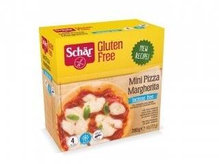 Schar Diepvries Mini Pizza Margherita , DIEPVRIES (AFHALING OF ENKEL LEVERING OP ZATERDAG  IN DE AANGEGEVEN PROVINCIES !)