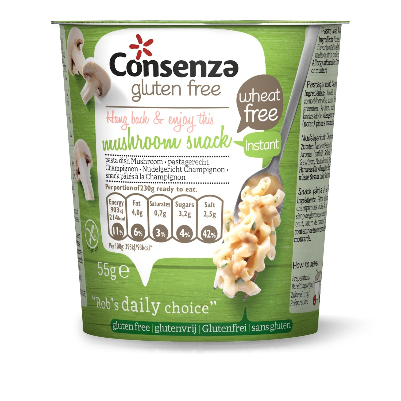 Consenza Instant Macaroni met champignon