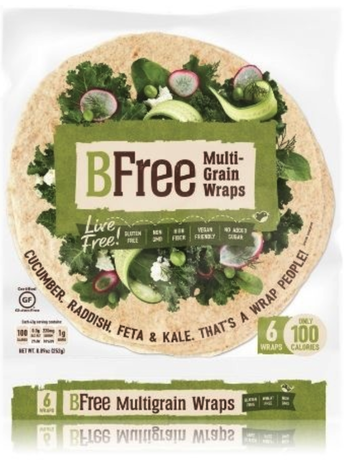 Bfree Multigranen Wraps