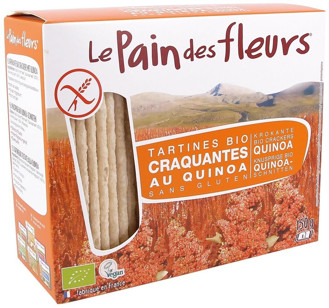 Le pain des fleurs Bio Quinoacrackers
