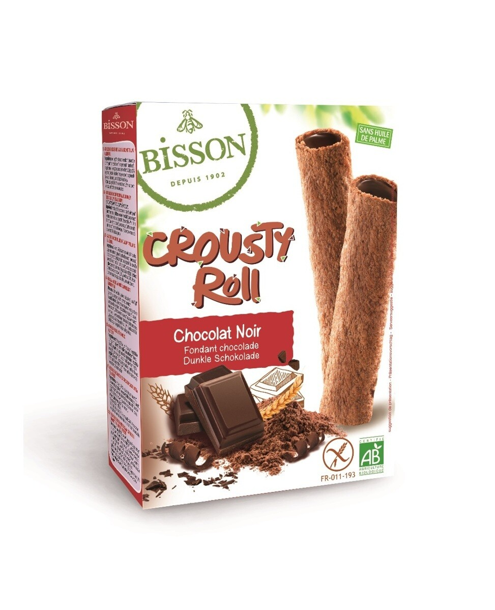 Bisson Bio Crousty Roll Fondant Chocolade