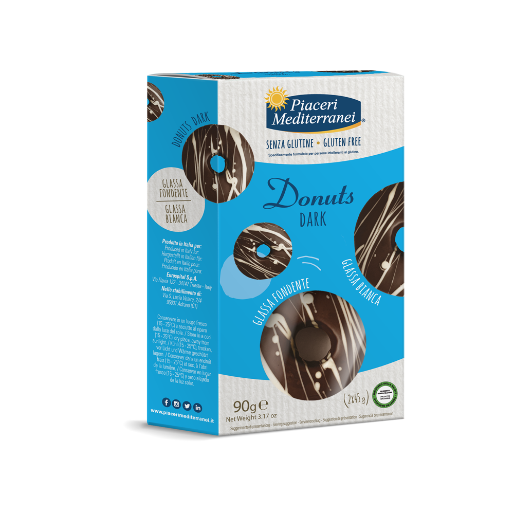 Piaceri Mediterranei Donuts Dark