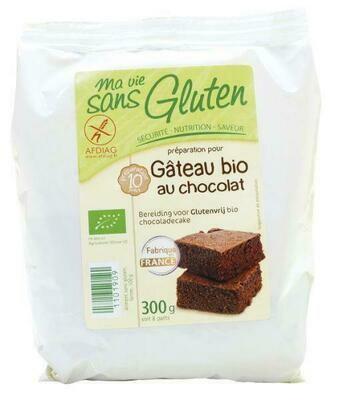 Ma Vie Sans Gluten Bio bereiding voor Chocoladecake 300 g